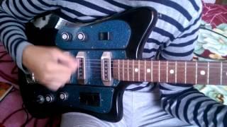 Електрогітара СРСР ФОРМАНТУ 262-БЛ, Electric Guitar FORMANTA