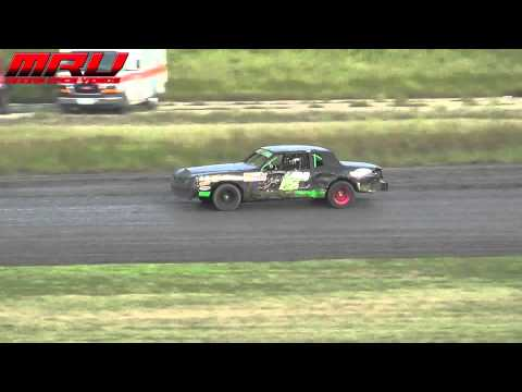 Thunder Car Feature at the Iron Cup at Park Jefferson Speedway in Jefferson, SD on September 14th
