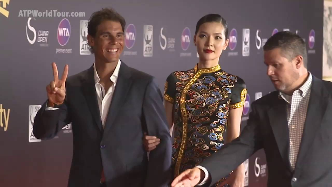 Raonic Murray Nadal Enjoy China Open 2016 Player Party