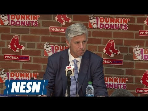 Dave Dombrowski announces Red Sox acquisition of 1B/OF Steve Pearce