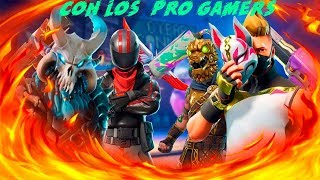 Con los pro gamers fortnite Battle royal direct Adoxe Games