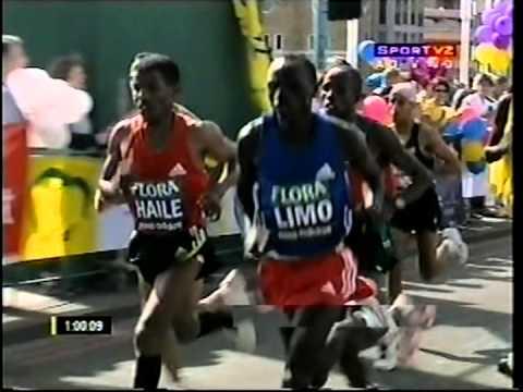 Maratona de Londres - masculina - 2007