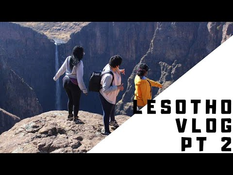 Travelling to Lesotho // Lesotho Roadtrip : part two// South  African  youtuber // durbanite