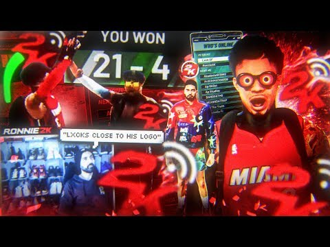 RONNIE 2K IS FINALLY GIVING ME A LOGO?! LXCK DF x RONNIE 2K GAME OF THE YEAR! STRETCH BIG NBA 2K20