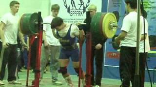 Prokopenko Andrey Squat 306kg (Records KAZ)