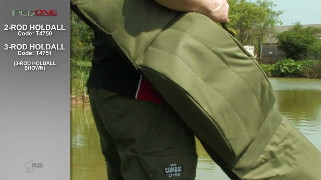 JRC Contact 12ft 3 Rod Holdall Rodbag Carp fishing tackle