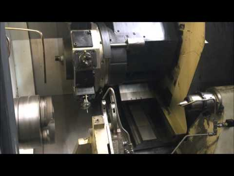 2005 Mori Seiki NL 3000Y 1250 CNC Turning Center with Live Tooling MN 21452