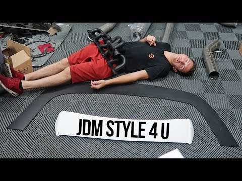 Home-made Splitters & UNREAL JDM Unboxing