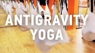 Антигравити йога в Волгограде – участники волгоградского фитнес проекта посетили йогу в гамаках!(, 2016-05-17T15:42:26.000Z)