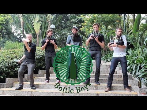 Bottle Boys - Party Rock Anthem (LMFAO cover on bottles)