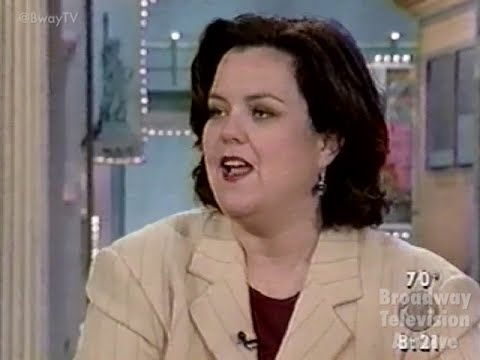 Rosie O'Donnell talks Broadway (pt 2) on CBS This Morning with Mark McEwen (05-June-1998)