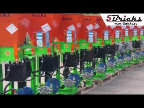 Подажа оборудования для производства лего кирпича ТМ5bricks