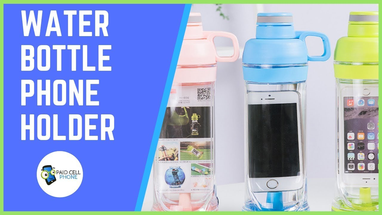 4b26c6064d ✅ Carry your water bottle and phone together with this Smart Bottle ...