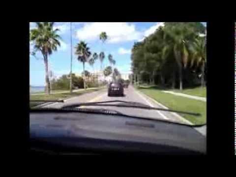 Driving Up The Gulf Coast