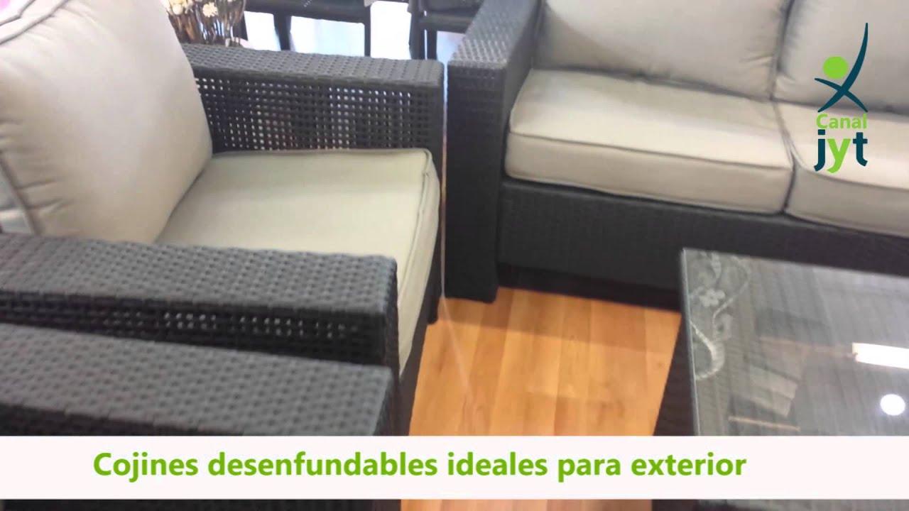 Conjunto sofás para jardín Asgard | Obsérvalo mejor | Venta online ...