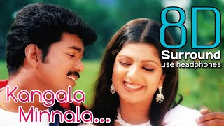 Kangala Minnala 8D | Endrendrum Kadhal Kangala Minnala Song | 8D Tamil Songs | break free musix
