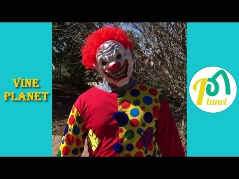Scary Clown Sightings | Best Compilation - Vine Planet✔