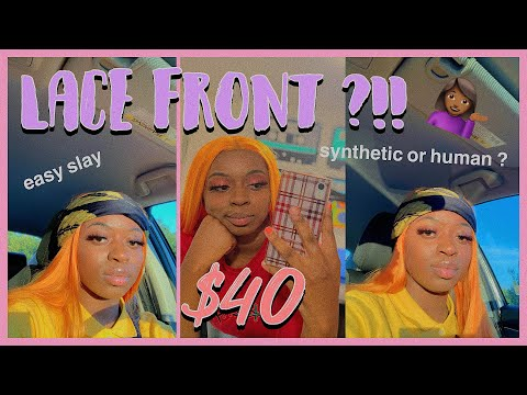 $38 AMAZON LACE FRONT SYNTHETIC WIG REVIEW | QD-UDREAMY HAIR 😻! BEST HAIR EVER ?!?