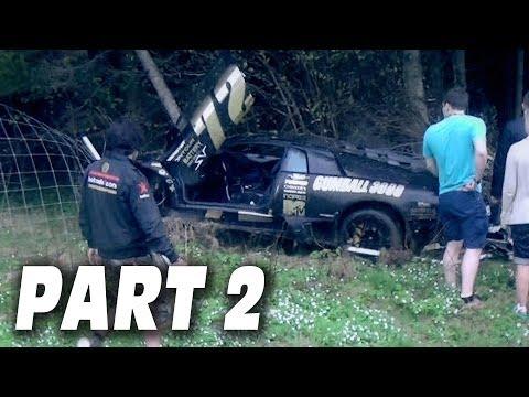 GUMBALL 3000 SUPERCAR CRASH! - Dudesons Do Gumball Rally PART 2