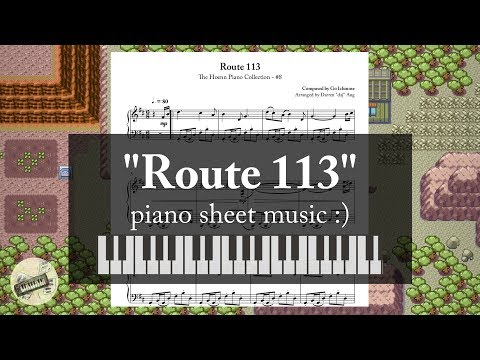 """""""Route 113"""" (from """"Pokémon RSE"""") 
