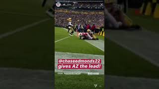 Chase Edmonds 2nd Rushing TOUCHDOWN Against Packers! 2018-2019 NFL SEASON