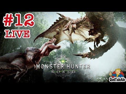 Monster Hunter World - Gameplay ITA - Walkthrough #12 [LIVE] - Catturiamo un po' di mostri