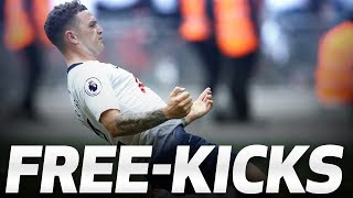 SPURS' BEST PREMIER LEAGUE FREE-KICKS!