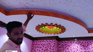 Drop False Ceiling Tiles by  bedroom Gypsum Ceiling Design & Wall Painting || Glass Ceiling See very