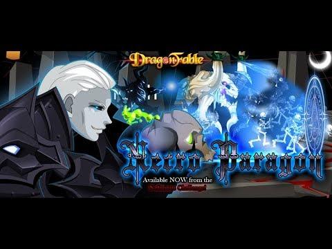 Dragon Fable Paragon Necromancer Armor
