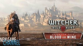 The Witcher 3 Кровь и Вино Русский Трейлер (The Witcher 3 Blood and Wine)