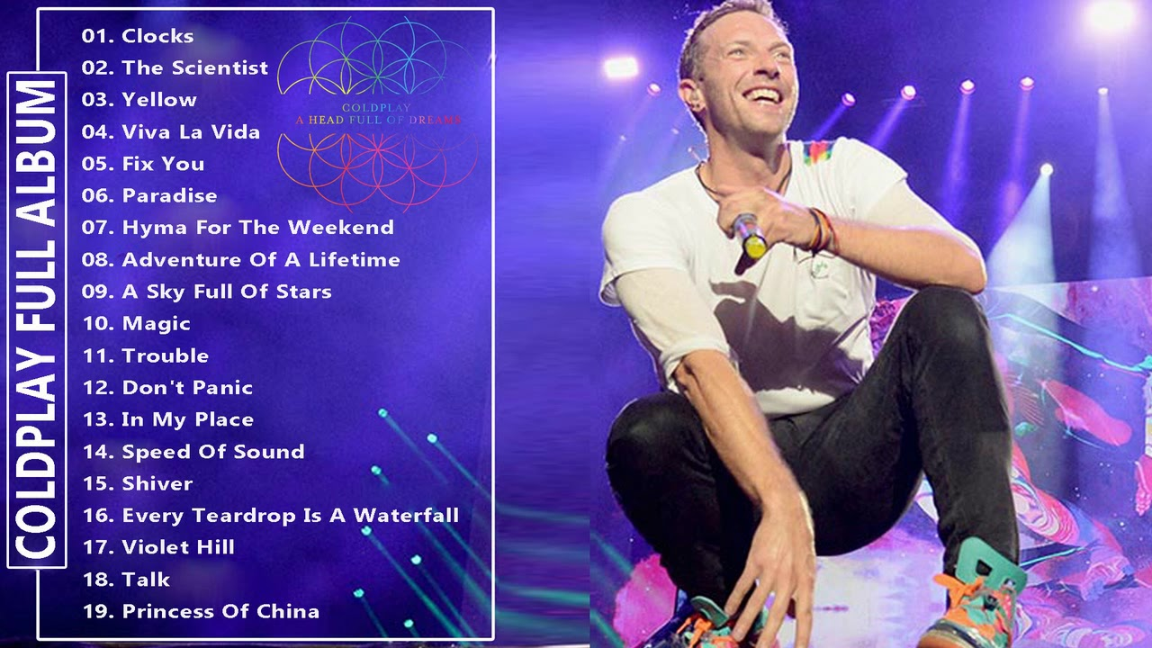 ColdPlay Greatest Hits 2018 - ColdPlay Full Album New Playlist 2018