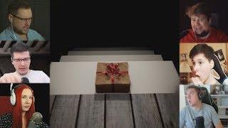 """""""Реакции Летсплейщиков"""" на Подарок из  CASE 2: Animatronics Survival"""