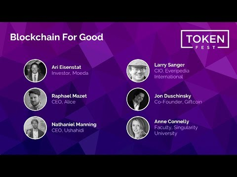 Panel Discussion - Blockchain For Good