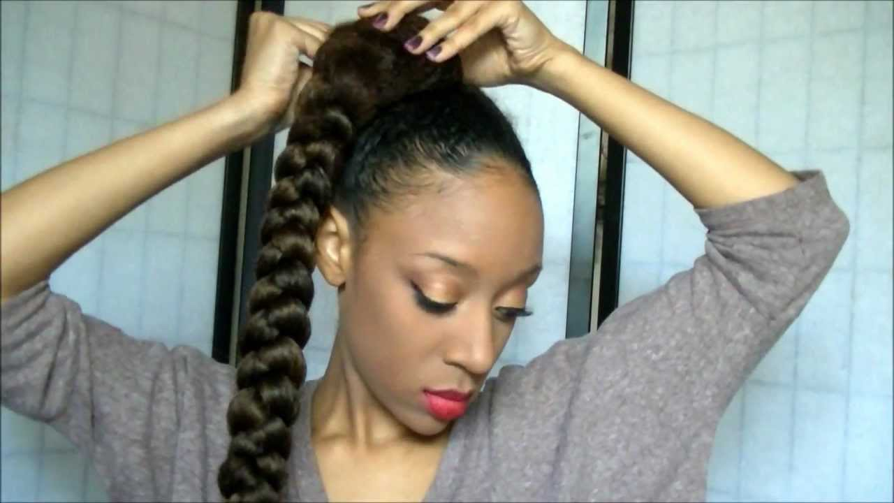 styles to do with kanekalon hair goddess to hair tutorial 1598 | maxresdefault