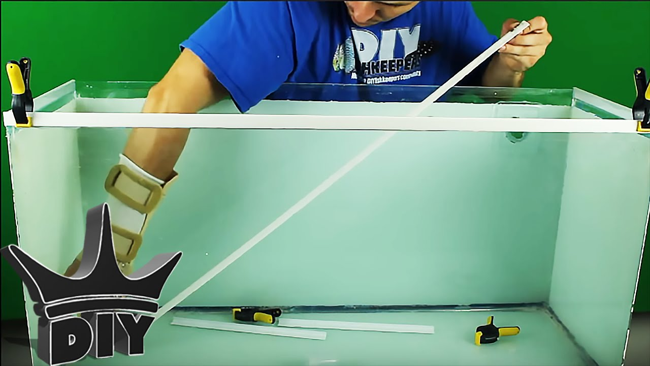 Make Your Own Aquarium Trim Youtube