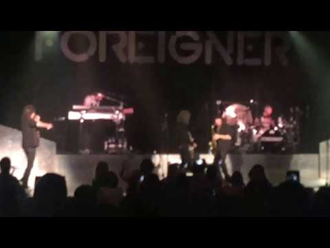 Foreigner - Urgent. Fayetteville, NC. 2-25-2107. Crown Theatre.
