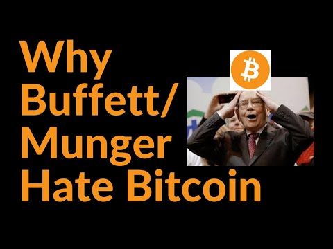 Why Warren Buffett and Charlie Munger Hate Bitcoin