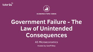 Law of Unintended Consequences