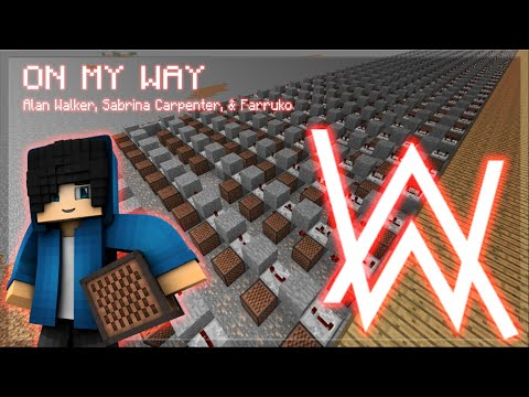 alan-walker---on-my-way-in-minecraft-(minecraft-note-block-song)