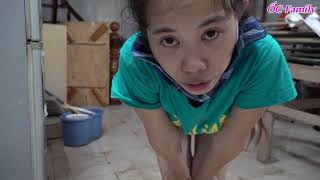 Beautiful Mom Cleaning Extremely Dirty House Part 2   ỐC Family