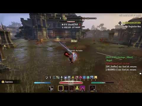 Elder Scrolls Online PVP – Cyrodill – Gameplay – Stamina Nightblade vsX