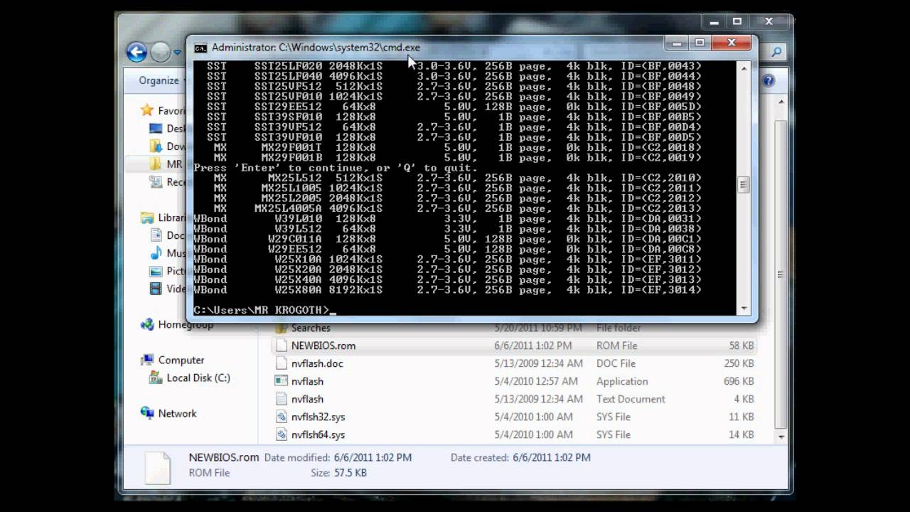 Overclock net Guides - Using NiBiTor and NVFlash by MRxKROGOTH