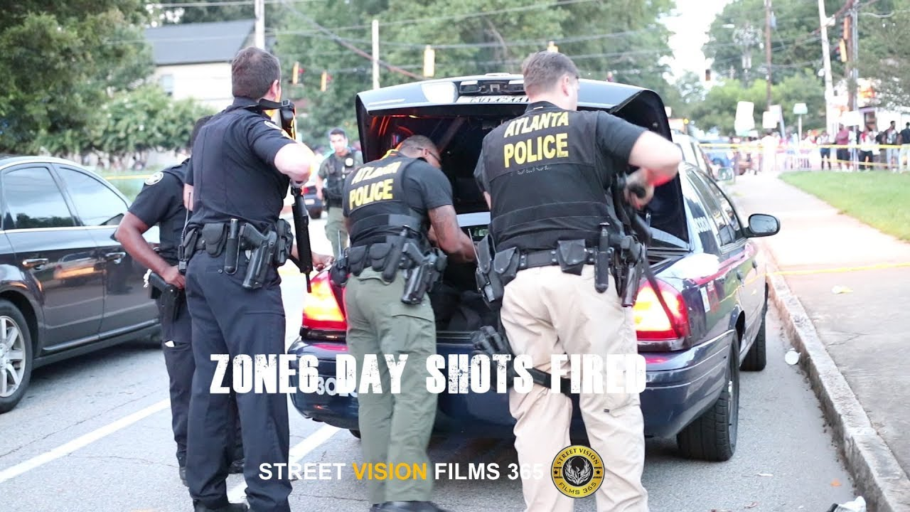 Zone 6 Day Sh*** Fired/ Atlanta Police Bring Out Big Tools