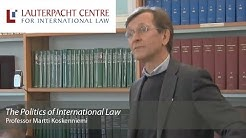 The Politics of International Law: Martti Koskenniemi