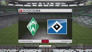FIFA 16 Bundesliga Prognose | Werder Bremen - Hamburger SV