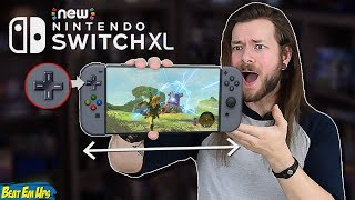A NEW Nintendo Switch XL/PRO Model Is A TERRIBLE Idea