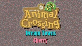 Animal Crossing NL Dream Towns: Cherry ; Horror? ... or Overdone...