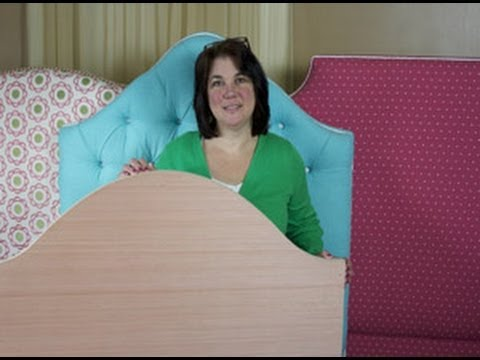 Upholstery How To Emble A Ready Cover Headboard