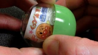 【Toy】アンパンマンガチャくっつくんです59カレーパンマン・Anpanman Gacha CURRYPANMAN