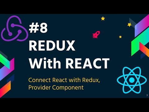 #8 Redux with React | Connect React with Redux | Provider | Redux Tutorial for Beginners thumbnail